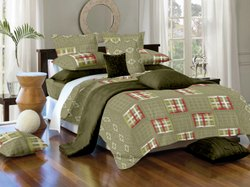 Designer Fitted Bed Sheet
