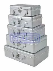 Jayco Rectangular Hinged Tin Box
