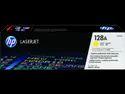 HP 128A Yellow Original LaserJet Toner Cartridge (CE322A)