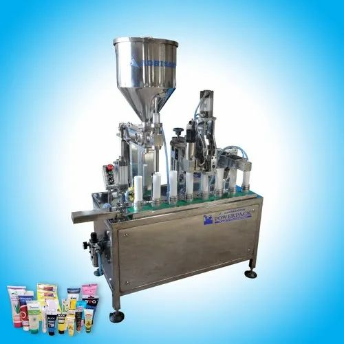 Tube Filling and Sealing Machine - Tooth Paste Filling and Sealing Machine  OEM Manufacturer from Chennai