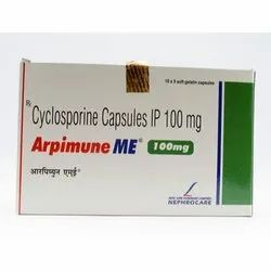 Cyclosporine 100mg IP Capsule