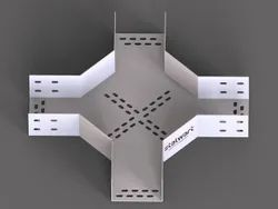 Cross (Fourway) For Perforated Cable Tray (Standard)