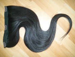 Raw Clip On Human Hair Extensions