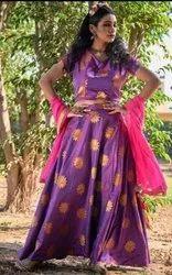 612970f1ea Silk Lehenga - Retailers in India