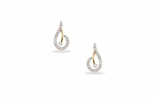 3932275eb Yellow Gold Droplet Diamond Earrings, Rs 32683 /pair, Kirtilal ...