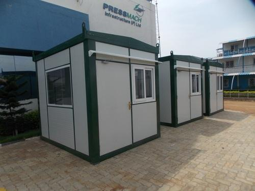Security Cabins Pvc Security Cabin Manufacturer From Chennai