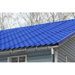 Blue GI Roofing Sheet