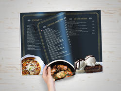 Paper Table Menu Printing Services, in Mumbai, Dimension / Size: A4