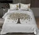 Big Tree Print Bedsheet for Double Bed