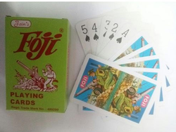 Foji Paper Playing Cards