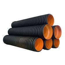 Double Wall Corrugated  Sewerage And Drainage Pipe