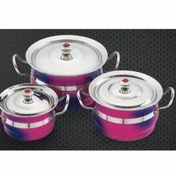 Double Colour Toshiba Serving Bowl Set