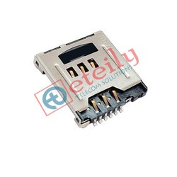 Sim Card 6 Pin Micro SD Card Holder