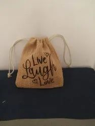 Jute Baby Pouch