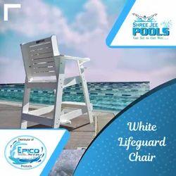 White Lifeguard Chair