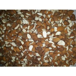 Golden Valley Broken Almond Nuts, Packing Size: 30 Kg