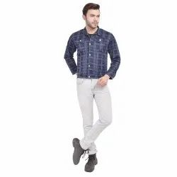 Skupar Cool Slim Fit Men Denim Jacket