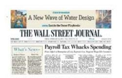 The Wall Street journal News Paper