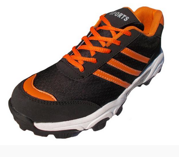 6ebf1d9abfa2 Port Men Orange Vibram Mesh Cricket Shoes at Rs 1299  pair ...
