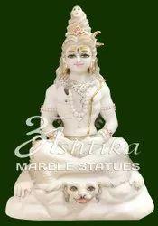 Marble Shiv Sankar Mahadev Statue