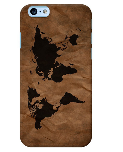 Iphone 6 World Map Case.Daily Objects Wrinkled World Map Case For Iphone 6 Apple Iphone