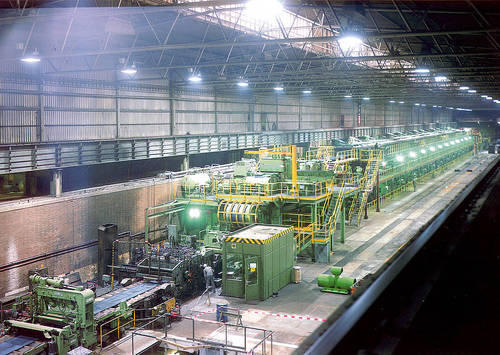 Strip Galvanizing Plant