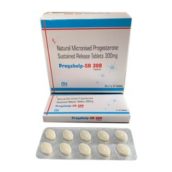 Natural Micronised Progesterone Sustained Release Tablets