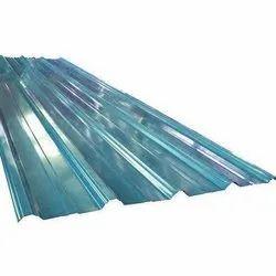Blue Aluminium Corrugated Sheets