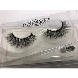 d7513f09e26 Black 3D Mink Eyelashes, Pack Size: 2 Pair, for Parlour