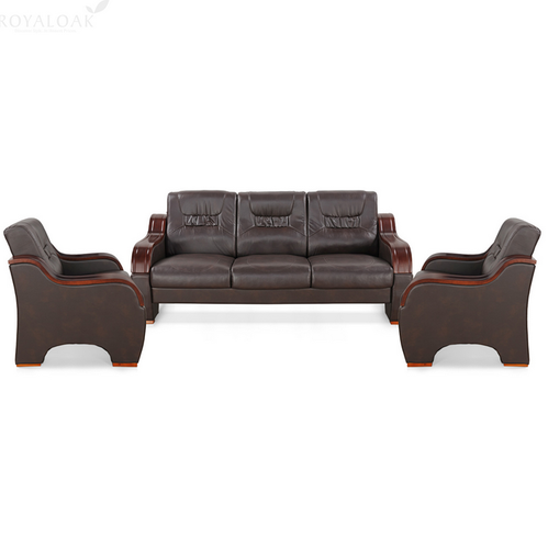 Berlynoak Plum Sofa Set