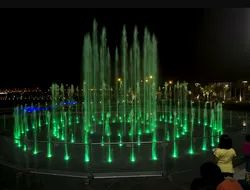 Mihir Engineering Stainless Steel Dancing Fountain, For Decoration, 4 Mm