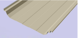 Steel / Stainless Steel, Galvalume/ Color Coated Galvalume Lycorzip Standing Seam Boltless Roofing System