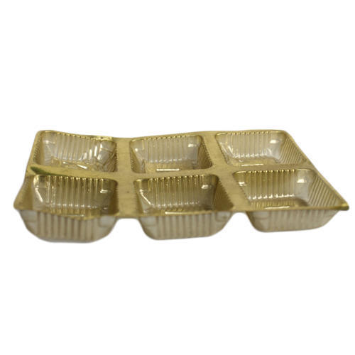 NO Fixed Chocolate Packaging Tray, Capacity: 250 - 500 Gm