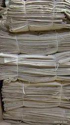 White Gada Piece - Cotton, For bagstitching