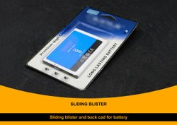 Sliding Blister With Back Card