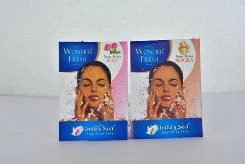 Natural Fragrances Soap Strips ( Wonder Fresh)