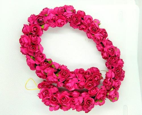 Mokshi Collections Artificial Flower Hair Accessories Rs 380 Piece