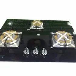 Automatic Three Burner Gas Stove