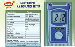 Waco 914A Digital HV Insulation Tester