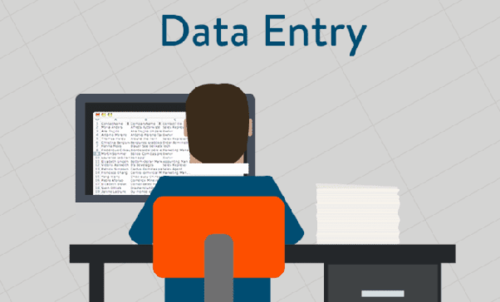 Low Investement Data Entry Work