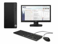 HP Desktop Computer, Intel Core i3 8th Gen processor, 4GB, 1TB, 18.5, Win10 Pro