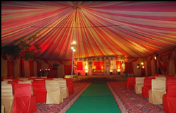 Wedding Tent Decorations Services & Tent Decoration Services in Noida