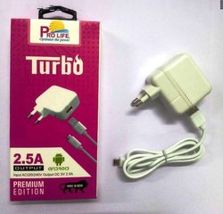 Mobile Fast Charger USB 2.5 Amp, Packaging Type: Box