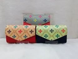 Handcrafted Ladies Box Clutch