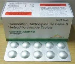 Telmisartan 40 mg, Hydrochlorothiazide 12.5 mg, Amlodipin 5mg Tablets