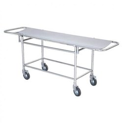 Patient Stretcher Trolley With S.S Top