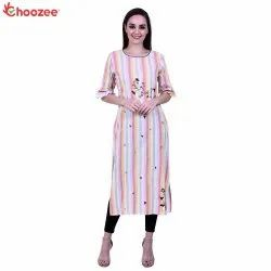 Glory Women Embroided Staright Kurta