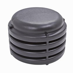 HDPE Double Wall Corrugated Pipes End Cap For DWC Pipe Fittings