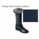 Sheep Semi Aniline Leather