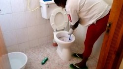 Toilet Deep Cleaning Service
